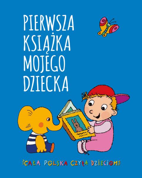 Okładka Pierwsza Książka Mojego Dziecka