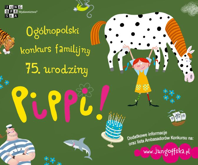 Patron 75. urodziny Pippi